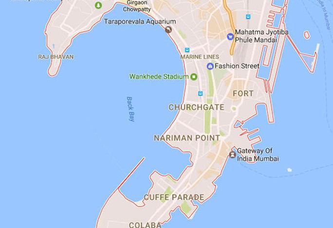 Mumbai On Map Of India.Art Deco Mumbai Discover The City S Heritage Via An Online Map