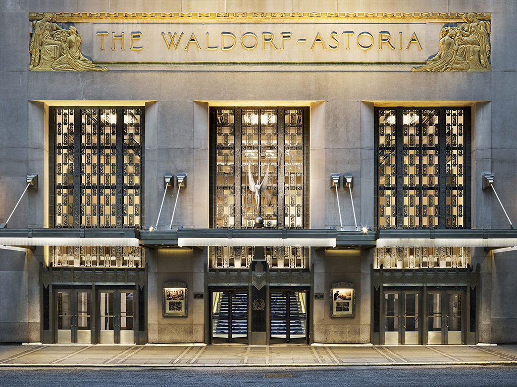Waldorf astoria new york embarks on major restoration and for Hotel new astoria