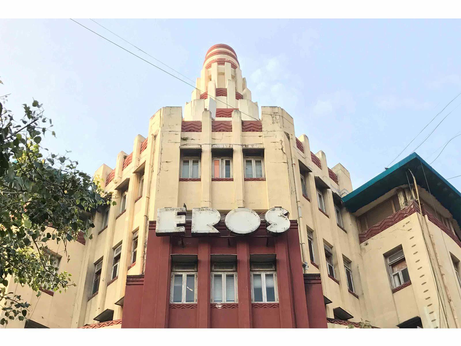 Eros Cinema, Oval Maidan © Art Deco Mumbai Trust