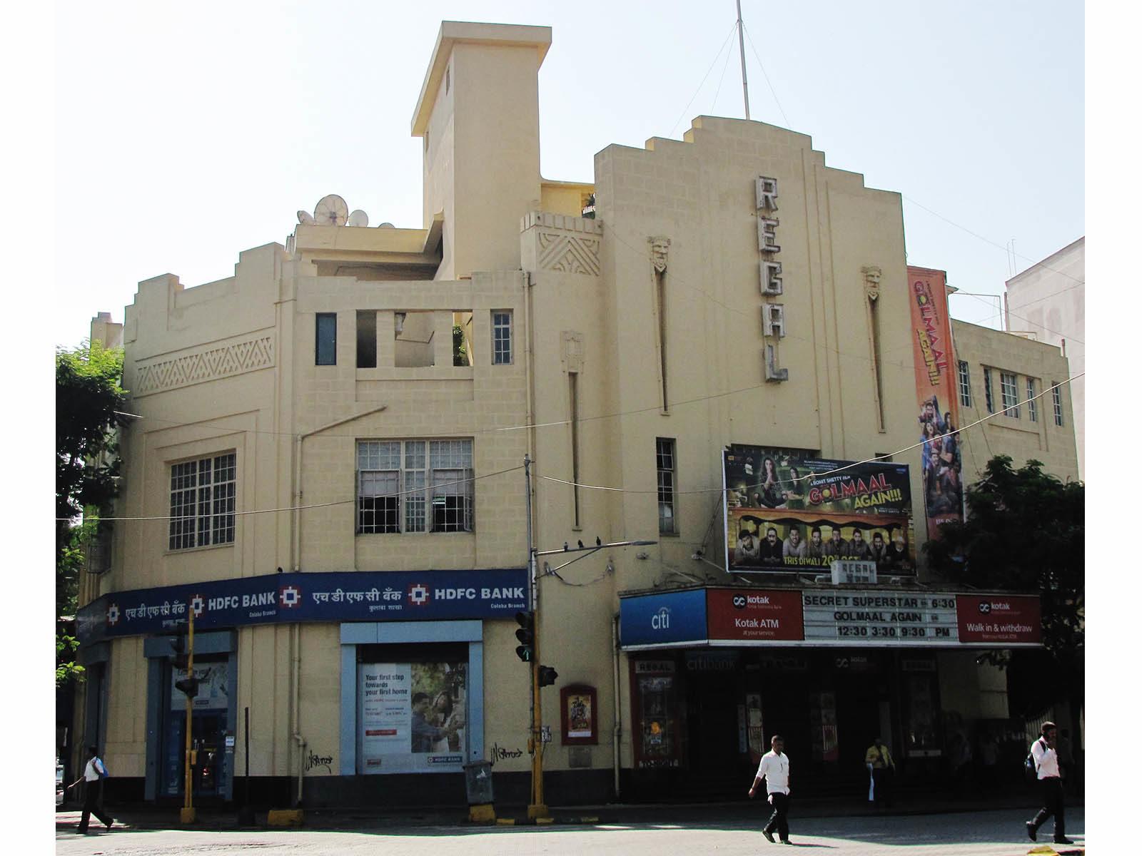 Regal Cinema, Colaba © Art Deco Mumbai Trust