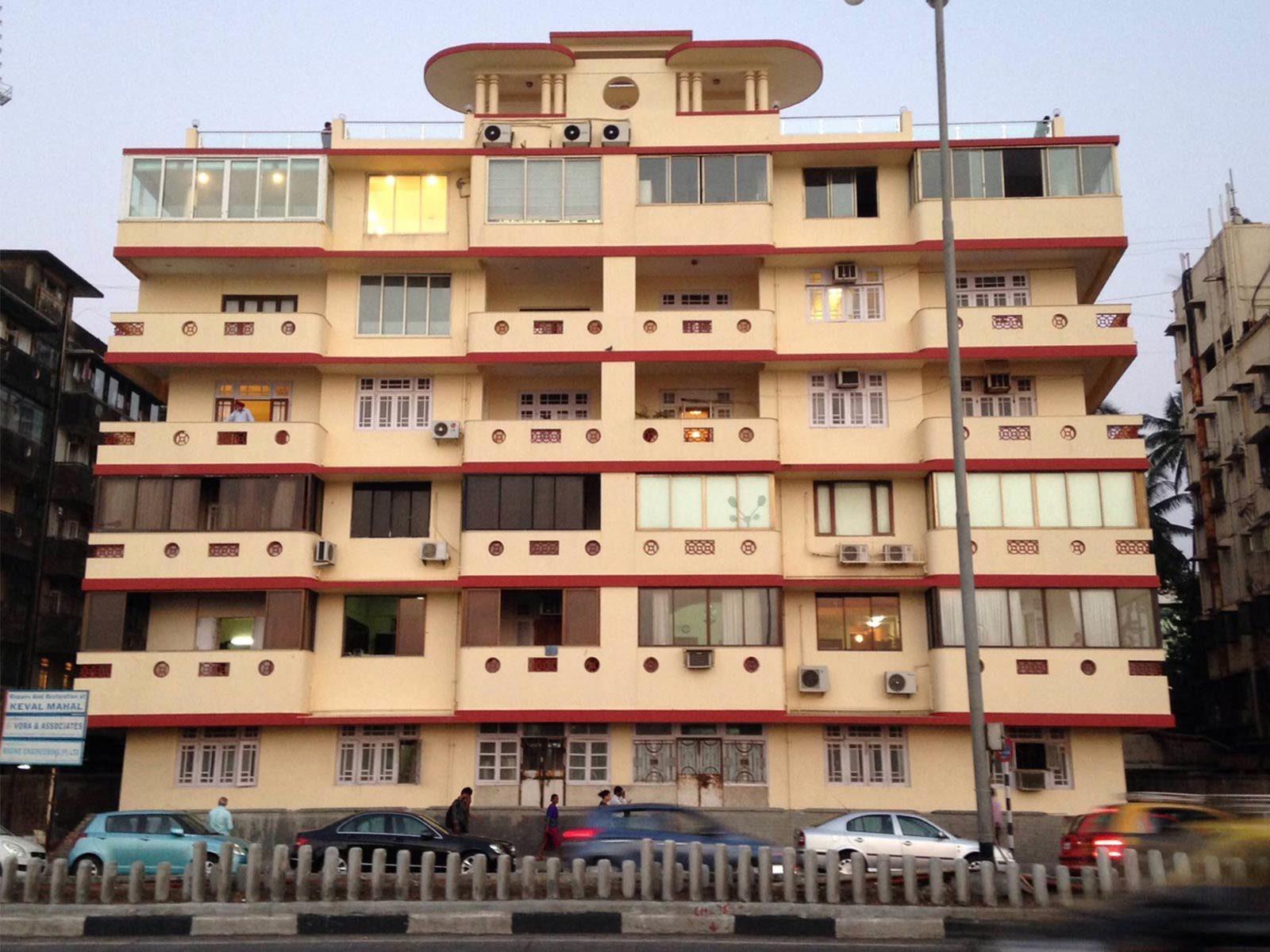 Keval Mahal, Marine Drive © Art Deco Mumbai Trust
