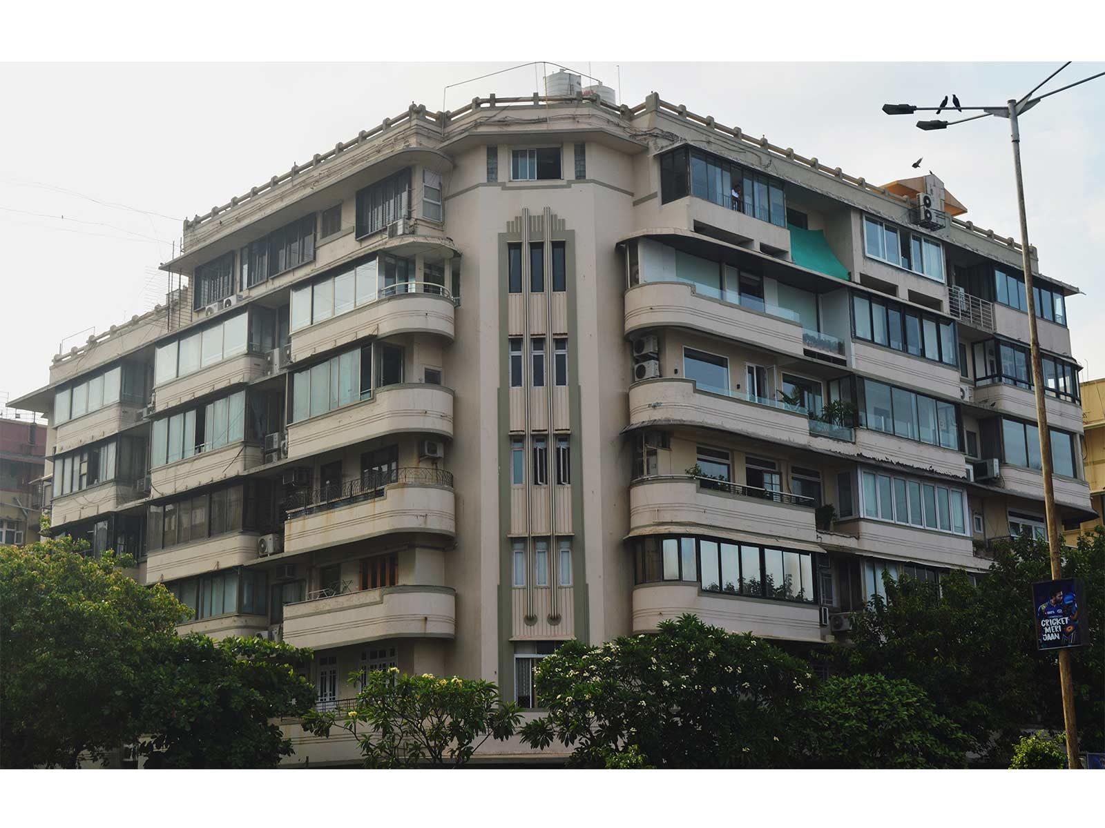 Seksaria Building, Marine Drive © Art Deco Mumbai Trust