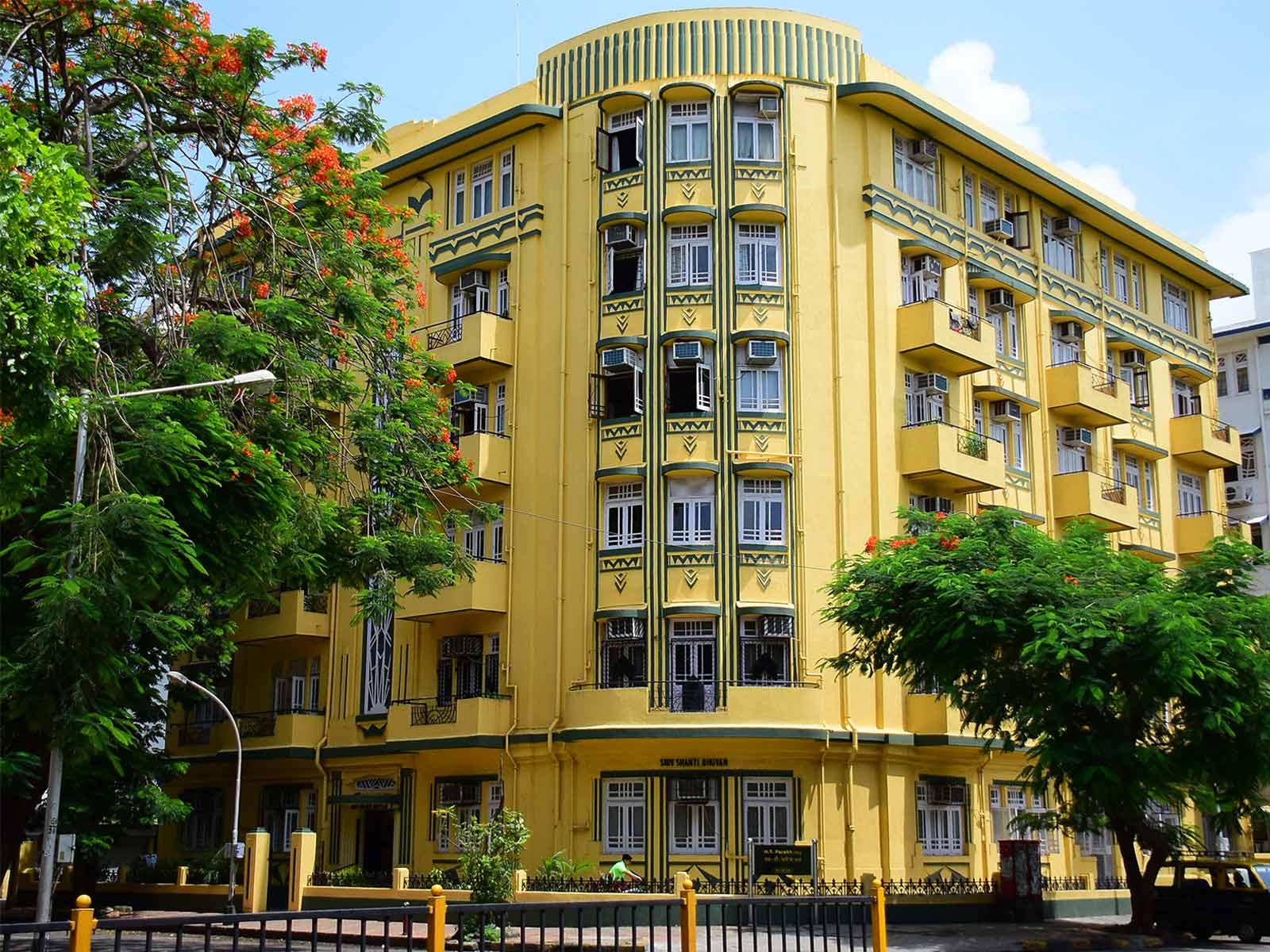 Shiv Shanti Bhuvan, Oval Maidan © Art Deco Mumbai Trust