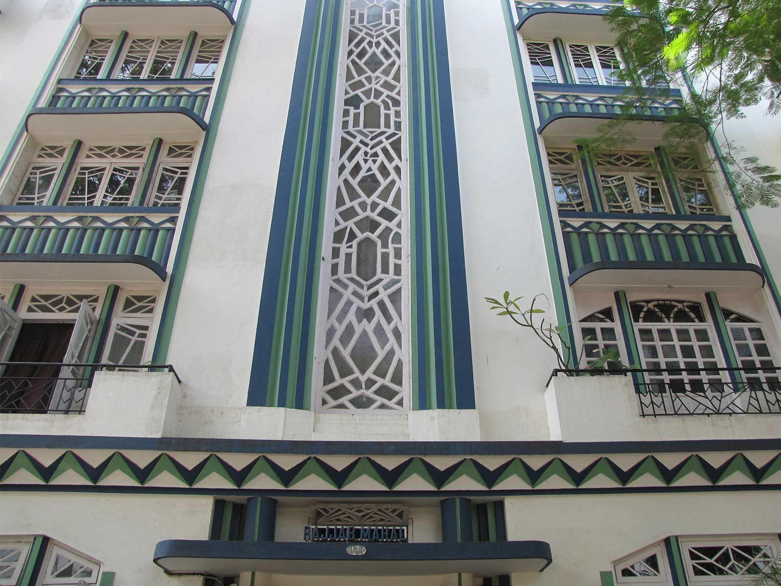 Rajjab Mahal, Oval Maidan © Art Deco Mumbai Trust