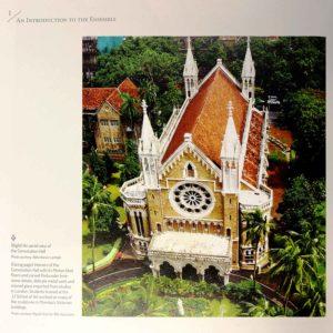 Snapshots from the dossier (Photo Courtesy: Abha Narain Lambah, The Victorian Gothic and Art Deco Ensemble of Mumbai)