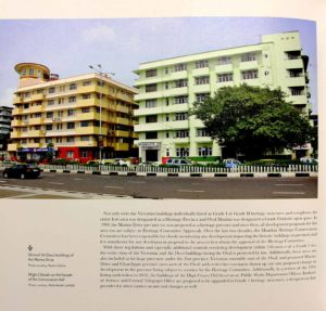 Snapshots from the dossier (Photo Courtesy: Abha Narain Lambah, The Victorian Gothic and Art Deco Ensemble of Mumbai)