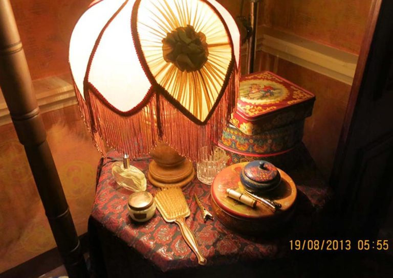 An assortment of  antiquities used in Bombay Velvet, many of which were sourced from Chor Bazaar. Photo courtesy: Dhara Jain