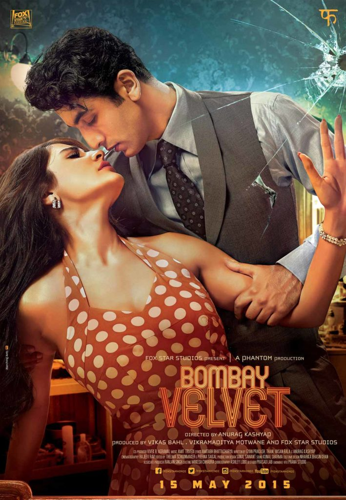 Costumes, makeup and hairdo are quintessential nuances that define period films. Anushka Sharma's polka dot dress, Ranbir Kapoor's broad lapel suits and his permed hair give a vintage look and feel to the film. Picture Credits: Marching Ants Advertising Pvt Ltd..