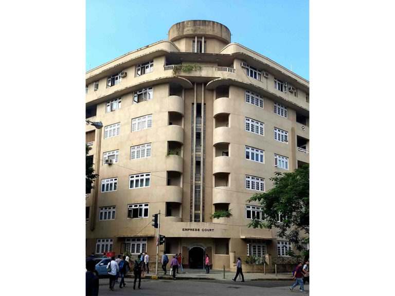 Empress Court, Marine Drive. Source: Art Deco Mumbai