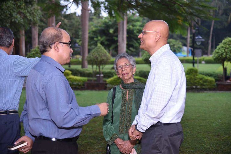 Mr Sabyasachi Mukherjee, Ms Shirin Bharucha and Atul Kumar in conversation
