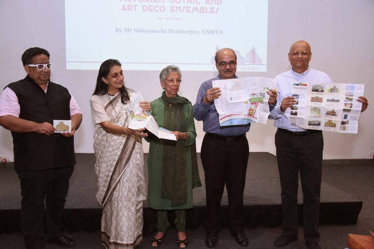 Release of the map of the Victorian Gothic and Art Deco Ensemble of Mumbai