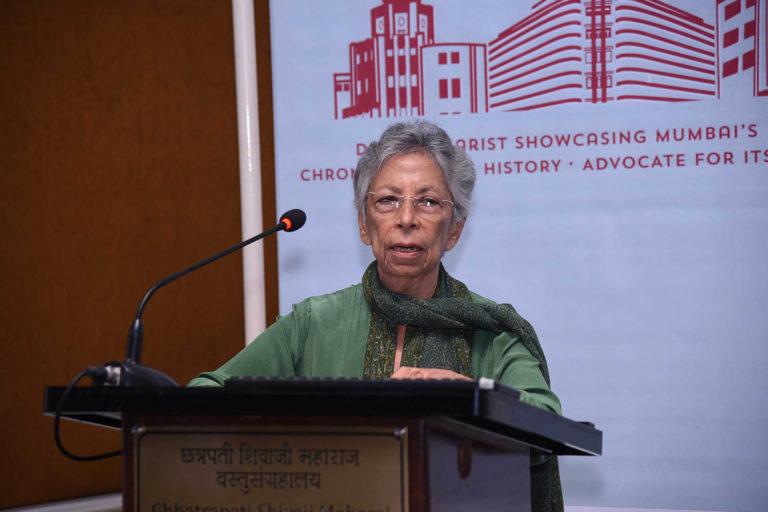 Vote of thanks by Shirin Bharucha, Trustee, Art Deco Mumbai