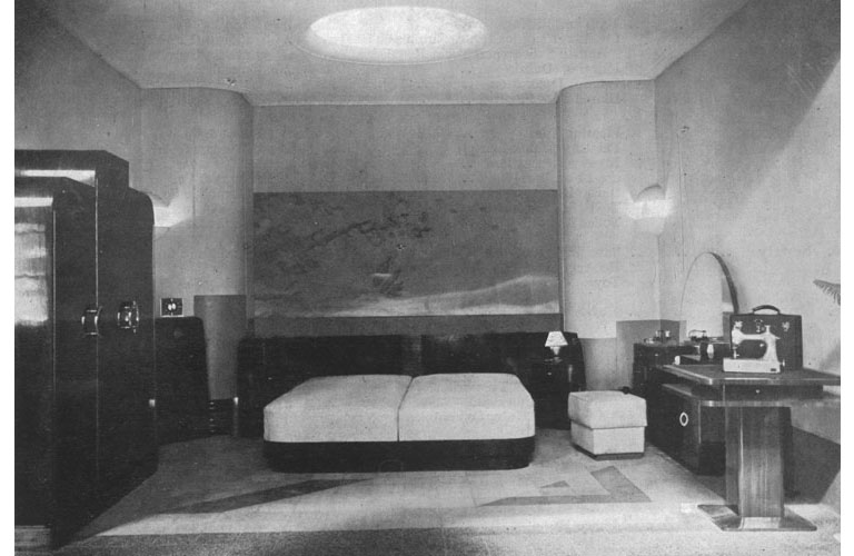 Bedroom Exhibit (Stand 5) Source: Journal of the Indian Institute of Architects, January 1938
